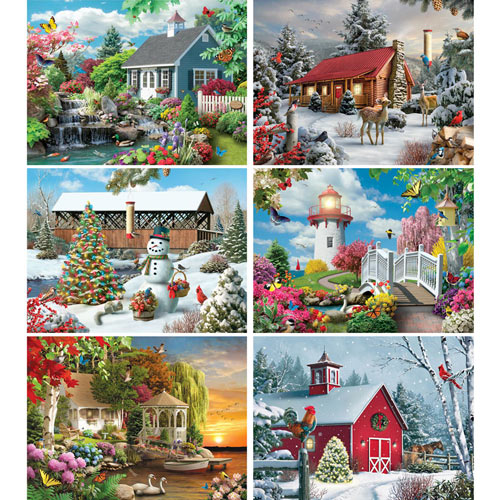 The Crafting Store 1000 Piece Jigsaw Puzzle