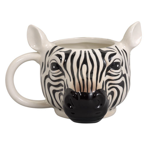 Zebra Shaped Mug