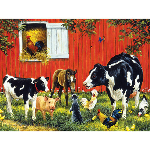 Old MacDonald's Farm 500 Piece Jigsaw Puzzle