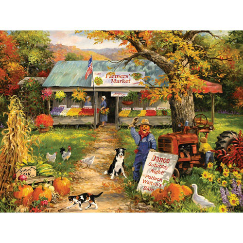 Farmer's Market 300 Large Piece Jigsaw Puzzle