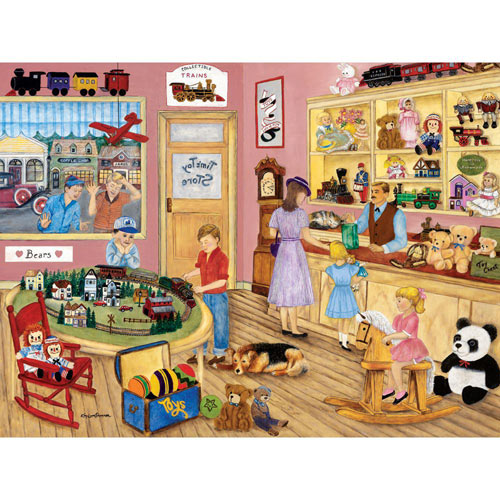 Tim's Toy Store 300 Large Piece Jigsaw Puzzle