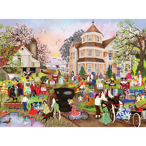 Yard Sale 300 Large Piece Jigsaw Puzzle