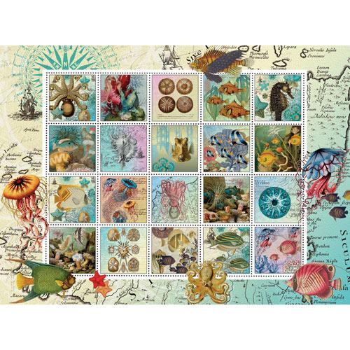Undersea Garden Quilt 1000 Piece Jigsaw Puzzle