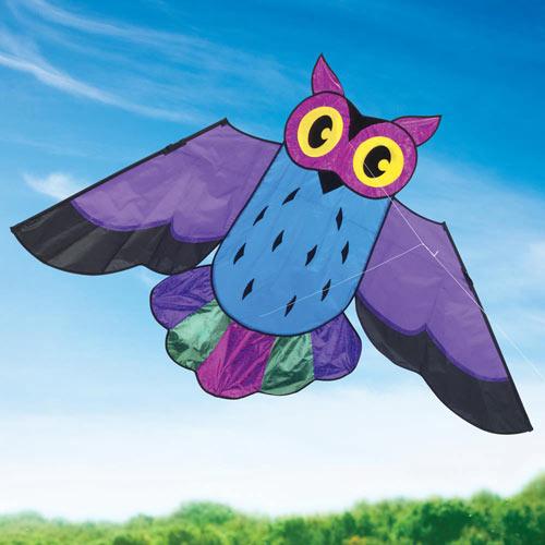 Giant Sparkling Owl Kite
