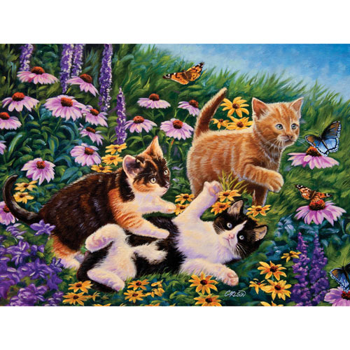 Carefree Days 500 Piece Jigsaw Puzzle