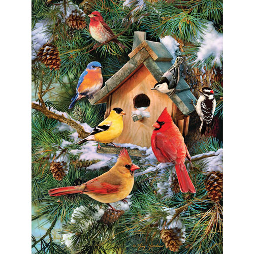 Blissful Moments 300 Large Piece Jigsaw Puzzle