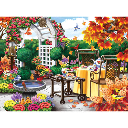 Tea for Two 500 Piece Jigsaw Puzzle