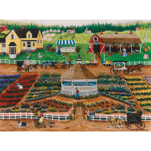 Spring In the Valley 300 Large Piece Jigsaw Puzzle