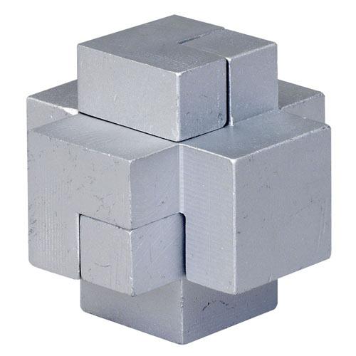 Metal Cross Puzzle Brainteaser