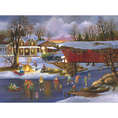 An Old Fashioned Christmas 1000 Piece Jigsaw Puzzle