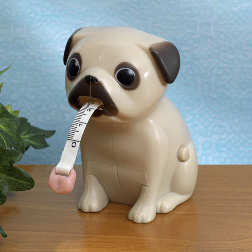 Cutie Pug Tape Measure