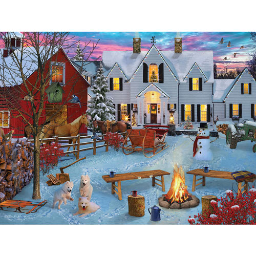 Triple Trouble 1000 Piece Jigsaw Puzzle