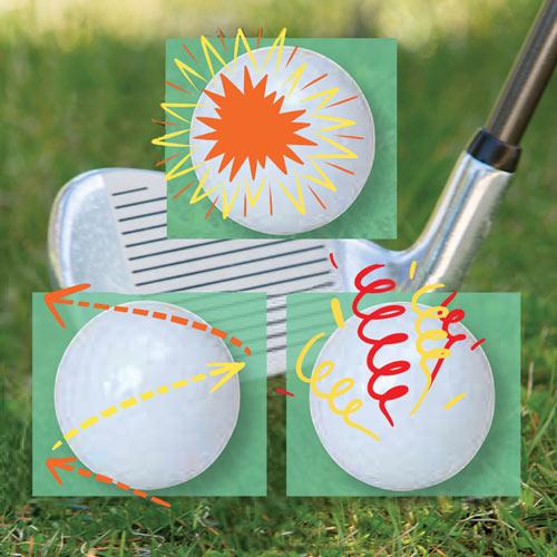 Joke Golf Balls