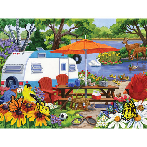 The Old Campground 300 Large Piece Jigsaw Puzzle