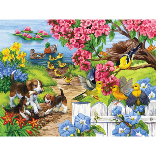 Time for Lessons 300 Large Piece Jigsaw Puzzle