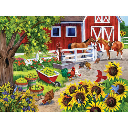 Ripe for Picking 300 Large Piece Jigsaw Puzzle