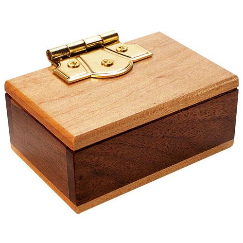Mini Secret Puzzle Box Brainteaser