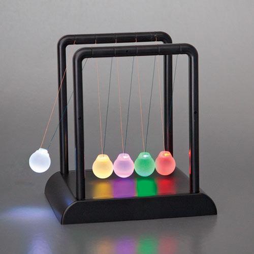 LED Newton's Cradle