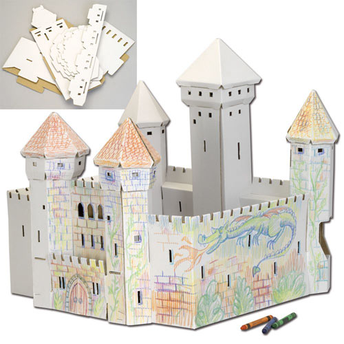 DIY 3-D Magic Castle Kit