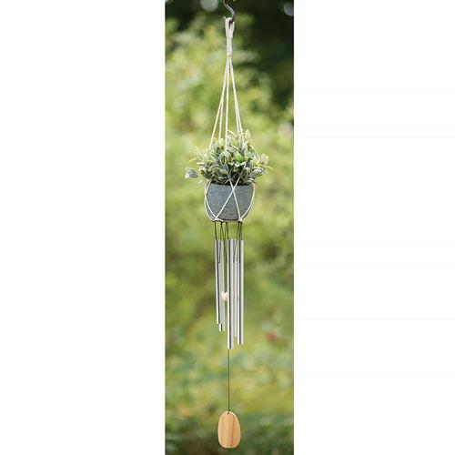 Hanging Planter Chimes