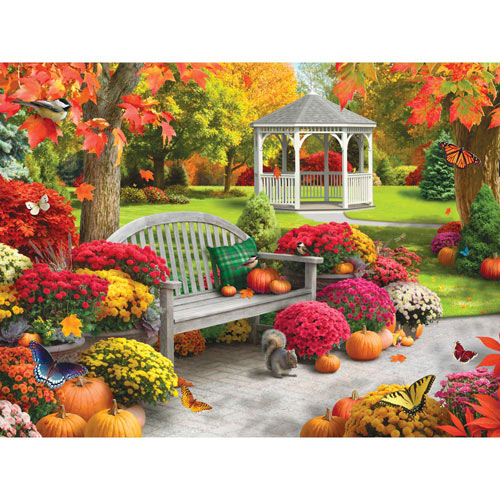 Autumn Oasis II 300 Large Piece Jigsaw Puzzle