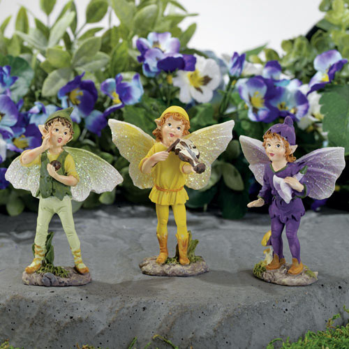 Magical Pixies Figurines - Set of 3