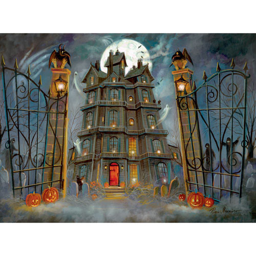 The Haunted House 300 Large Piece Jigsaw Puzzle