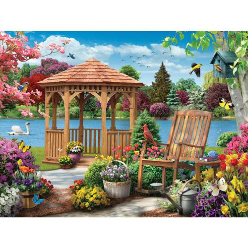 Farm Quilt 500 Piece Jigsaw Puzzle