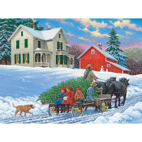 Grand Day Out 300 Large Piece Wood Jigsaw Puzzle