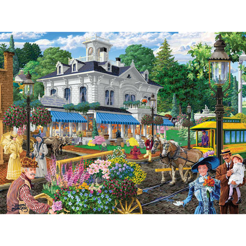 Victorian Spring 300 Large Piece Jigsaw Puzzle