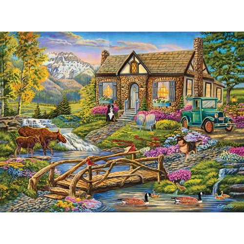 Serene Retreat 500 Piece Jigsaw Puzzle