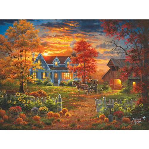 Autumn Lights 300 Large Piece Jigsaw Puzzle
