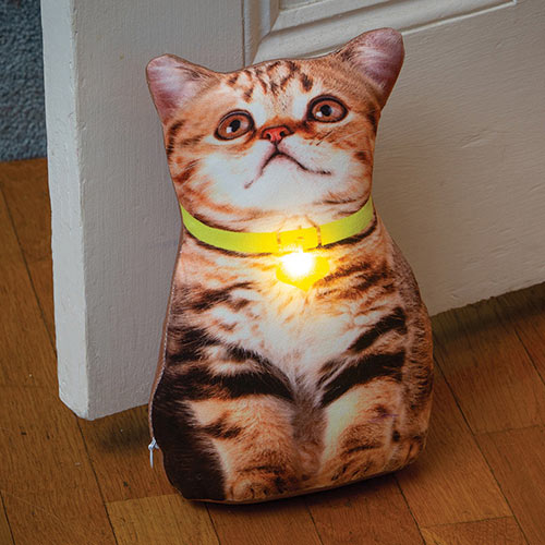 LED Kitten Doorstop