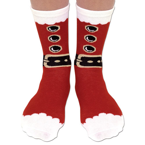 Santa Festive Holiday Socks