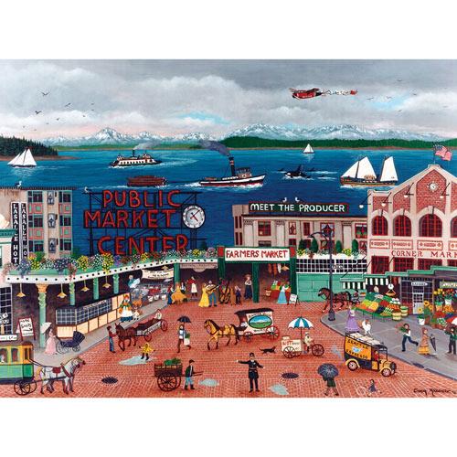 Pike Place Market 1000 Piece Jigsaw Puzzle