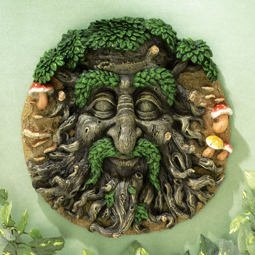 Green Man 3-D Wall Art