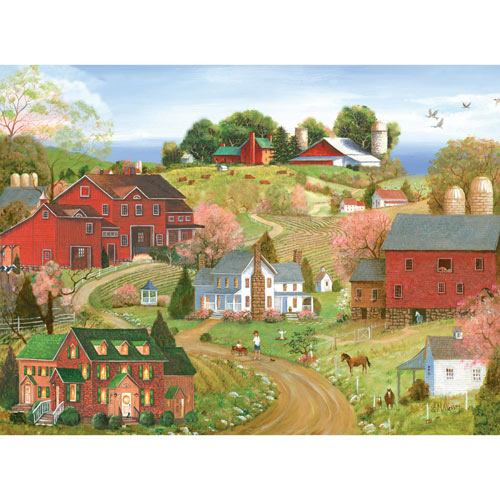 Deliciously Spring 300 Large Piece Jigsaw Puzzle