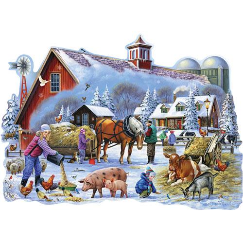 Bear Cub Playdate 500 Piece Jigsaw Puzzle