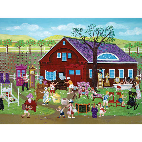 Yard Sale 500 Piece Jigsaw Puzzle