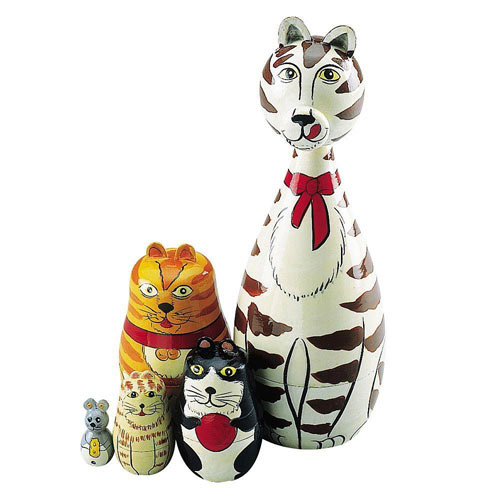 Cats Nesting Doll Set