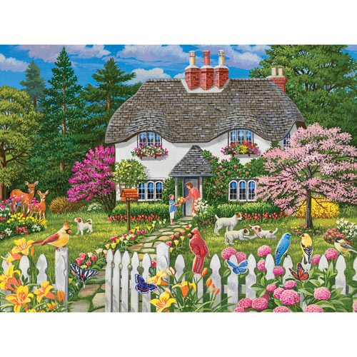 Flowers for Mama 300 Large Piece Jigsaw Puzzle