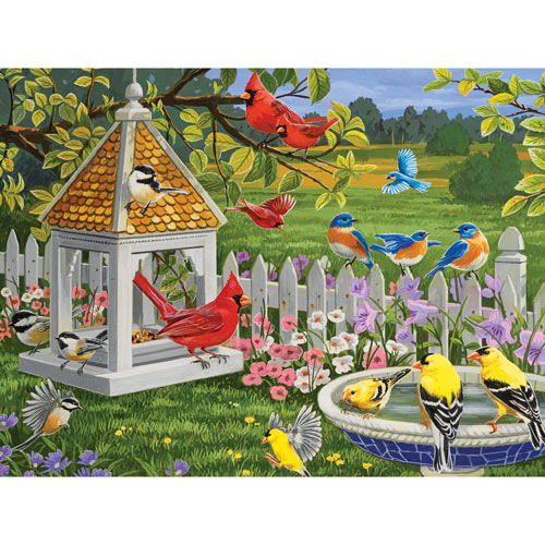 Learning to Fly 300 Large Piece Jigsaw Puzzle