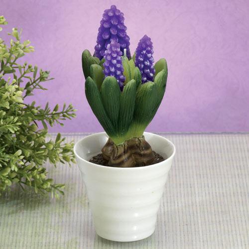 Sculptural Botanical Candle - Hyacinth