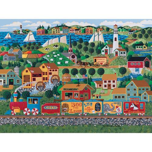 Circus Train 1000 Piece Jigsaw Puzzle