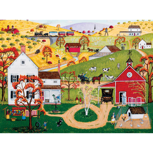 Fall Mail Call 1000 Piece Jigsaw Puzzle