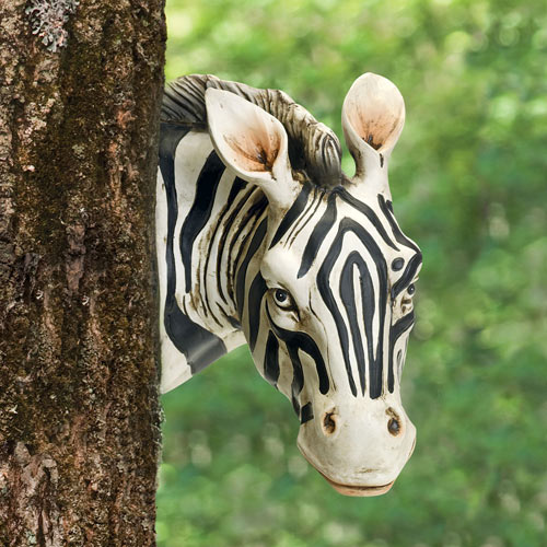 Zebra Tree Hugger