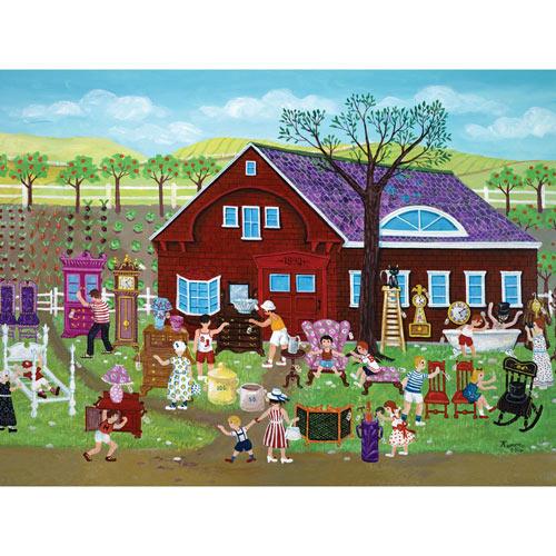 Yard Sale 1000 Piece Jigsaw Puzzle