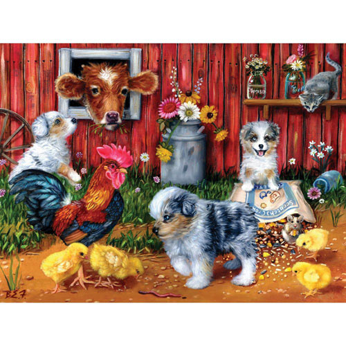 Feeding Frenzy 300 Large Piece Jigsaw Puzzle