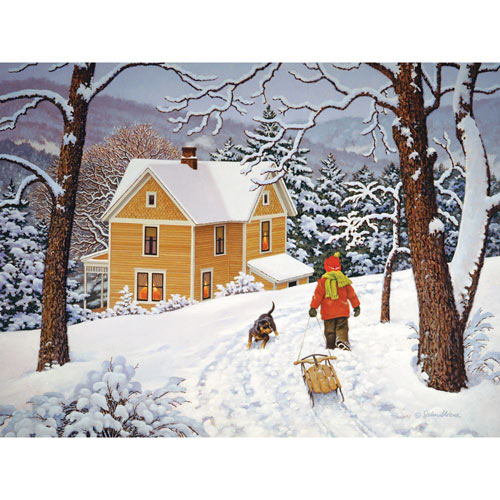 Heading Home 500 Piece Jigsaw Puzzle