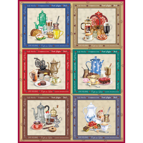 Coffee Cravings Quilt 1000 Piece Jigsaw Puzzle
